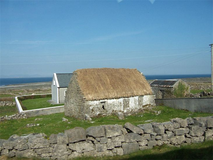 Irish cottage famine era